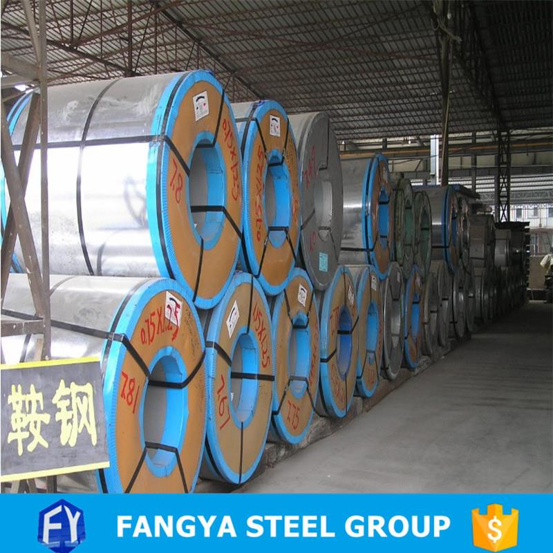 Tianjin Fangya jindal colour coated steel sheet z275 galvanized steel coils