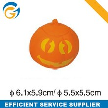 Pumpkin Shaped Pu Anti Stress Ball
