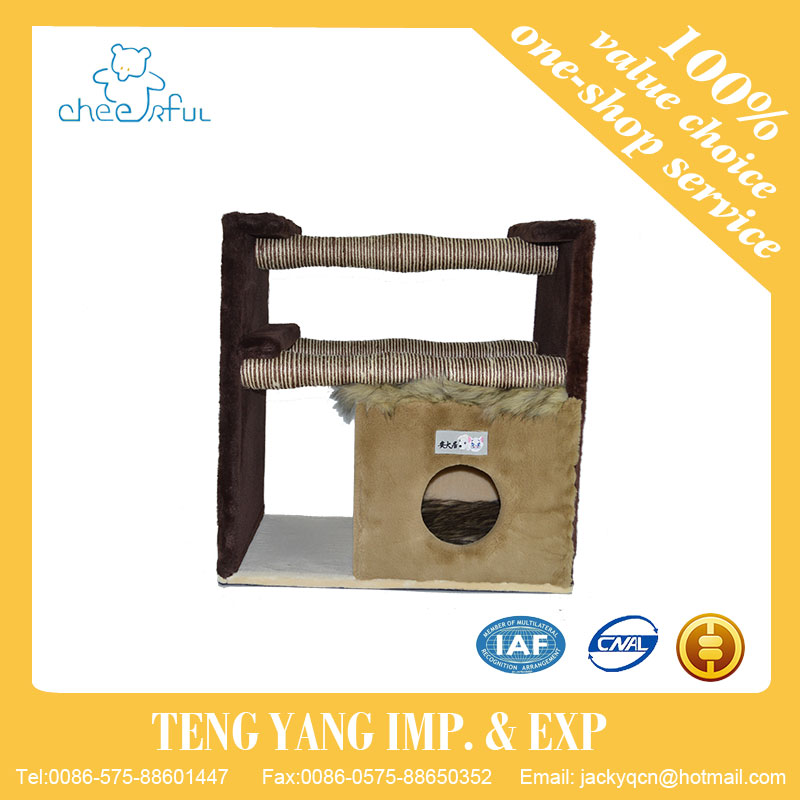 Cheap wholesale removable with different sizes luxurious cat bed