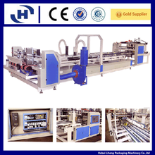 Automatic corrugated carton flexo folder gluer
