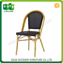Quality Guarantee Durable bamboo look chair garden furniture
