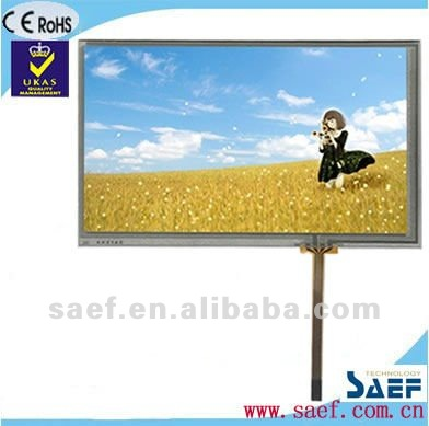"7.00"" inch 800*(RGB)*480 with 4-wire samsung tft lcd touchscreen monitor"
