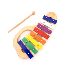 8 key xylophone bars orff instrument xylophone wooden mini xylophone for sale