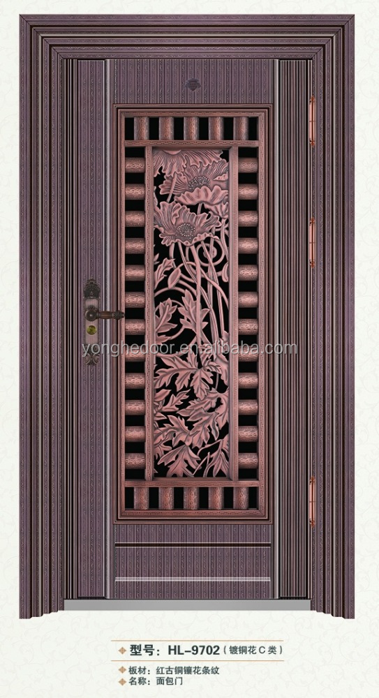 Stainless Steel Storm Security design Doors bread door