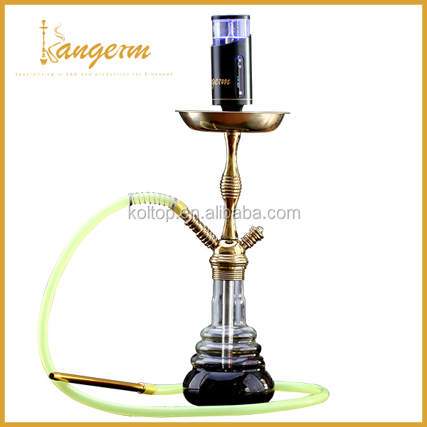 Factory directly sale luxury brass nargile hookah e cigarette