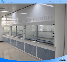 Laboratory Steel Fume Cupboards Chemical Lab Fume Hood Price