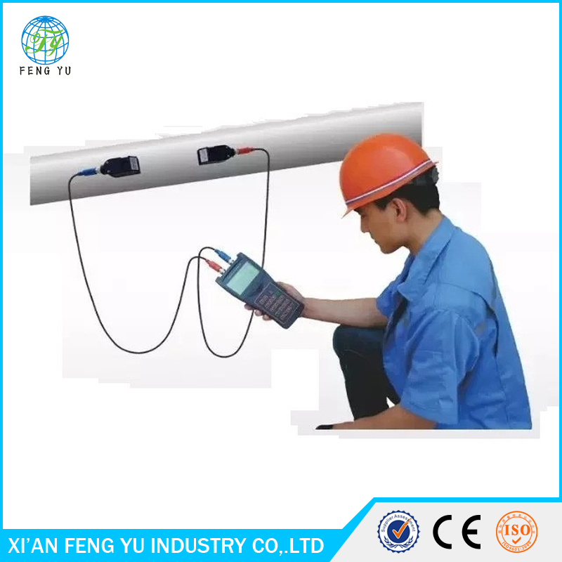 Low cost handheld flow meter ultrasonic clamp on