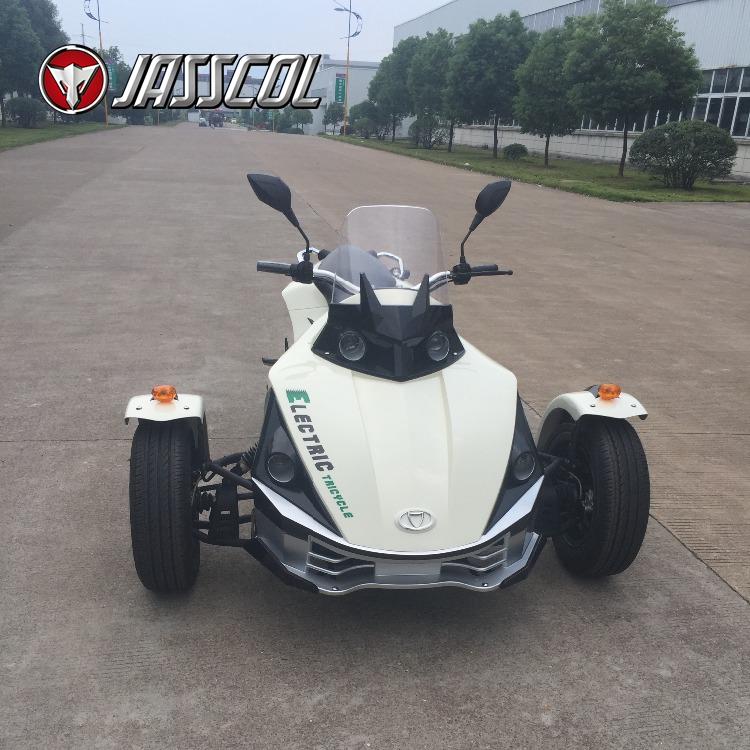 China wholesale cheap 7000w adult cool 3 wheel electric sport tricycle motorcycle for sale