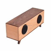 Home Theater BT-653 Rectangle Wooden Stereo Bluetooth Speaker