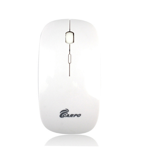 F10959/60 Carpo V2013 Ultra-slim Ergonomic 2.4GHz Wireless Mouse Black/White Desktop Computer PC Accessories