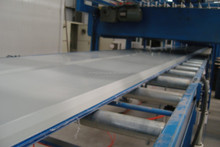 insulated polyurethane foam sandwich panel for sale