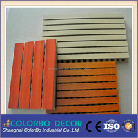 Wooden acoustic ceiling /wall panel/celotex board for studio