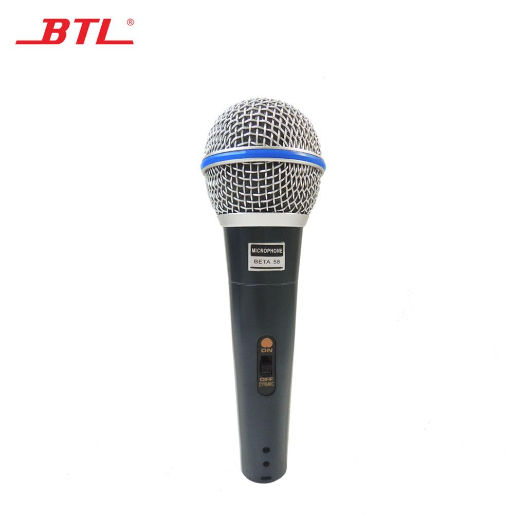 Haute qualité super sensible micro micro pour l'exécution d'étape, hôte, conférences BÊTA 58A - ANKUX Tech Co., Ltd