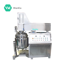 Safe and reliable toothpaste ointment unguent 250l vacuum homogenizer emulsifying mixer machine