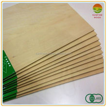 4mm decorative basswood plywood with JAS FSC certification for indoor usage