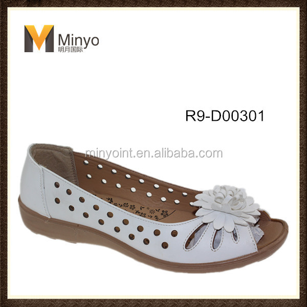 Minyo new design women flat shoes