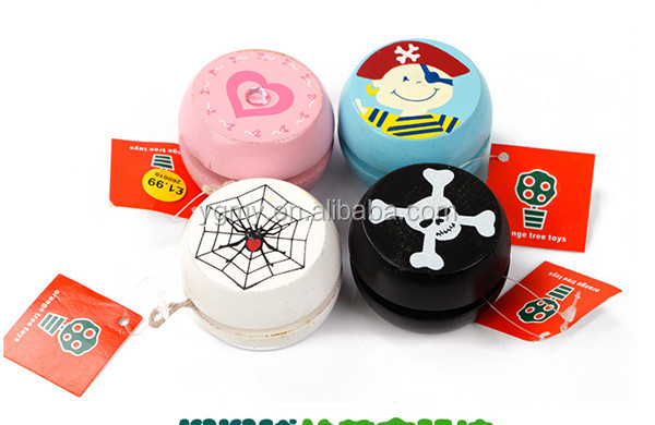 S-u wood eco-friendly wooden mini yoyo yo-yo classic nostalgic toy