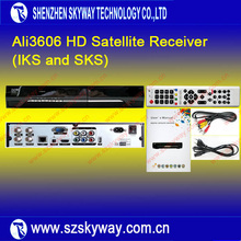 Latest Full HD Twin Tuner Satellite Receiver Ali3606 With IKS and SKS