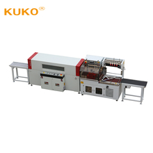 Heat Stainless Steel Bowl Side sealing and Shrink package machine