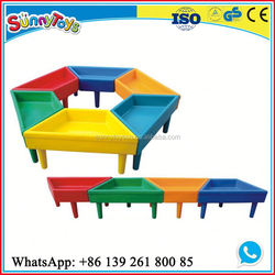 New coming daycare big kids playground equipment baby nursery furniture sets clearance for kindergarten