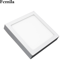 surface mount led light square ceiling lamps lighting backlit panel light SMD 2835 9w Surface mounted led panel/Square/ Round ul