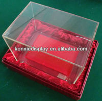 Clear Acrylic Packaging Boxes/High-end packing box for jewelry