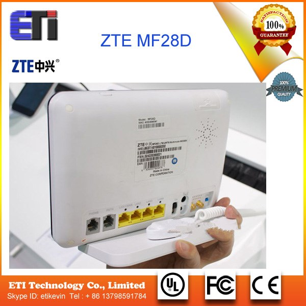 New Unlocked HSPA+ 42Mbps ZTE MF28D Mobile WiFi Hotspot,4G WiFi Router With External Antenna