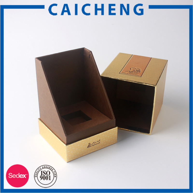 Perfume gift box customized packaging cardboard with designer logos