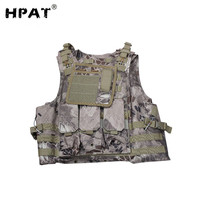 Tactical Military Vest Airsoft Outdoor War Game Paintball Safety Vest