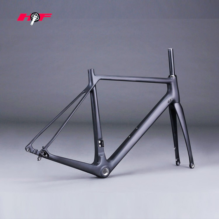 2016 newest disc frame with axle design,carbon bike hongfu disc bicycle frame FM079-F