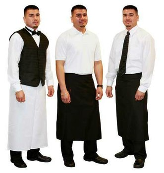 Wholesale Uniform Supplier for Hotels, Offices, School, Work places, Pubs, Bars. Made to Measure, Standard Sizes Also Available
