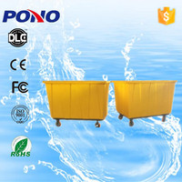 Pono custom-designed sound off and easy-moving plastic laundry trolley with long service time