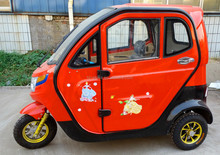 Red Ants fully enclosed luxury electric tricycles/cyclomotor/motorcycles 2100002
