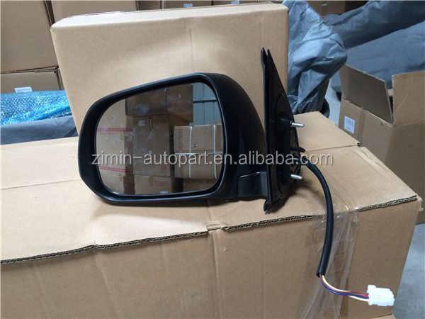 high quality auto folding side mirror for toyota hilux vigo 2012 2013 2014