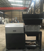 rubber raw waste paper shredder/recycling machine HD-600