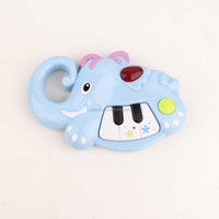 Cute Plastic Piano Baby Toy Horse Animal Piano With Light And Music