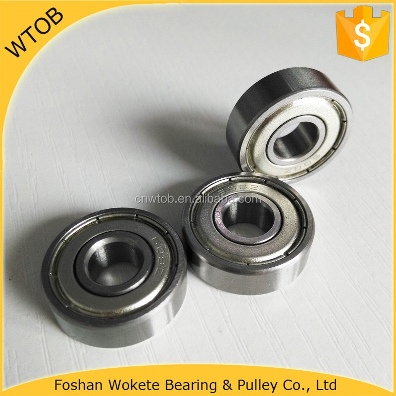 High Carbon Steel 6000 Series Deep Groove Ball Bearing 608ZZ For Power Bike