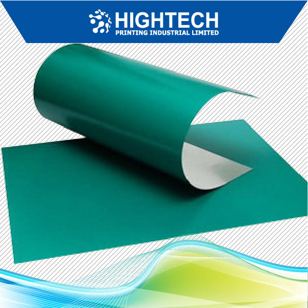 ISO9001 certificate Green color PS positive offset printing plate