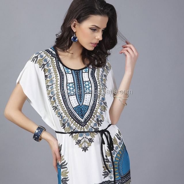 Summer wholesale clothing Fashion New Hot Sale Female African Clothing Printed African Tunic Shirt Dresses For Women