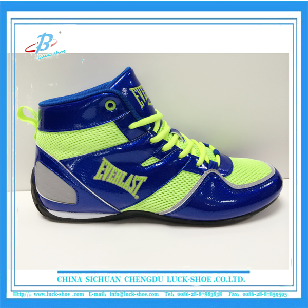 Custom made training boxing shoes kick boxing shoes for men