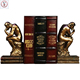 Custom made character decoration gift resin thinker bookends