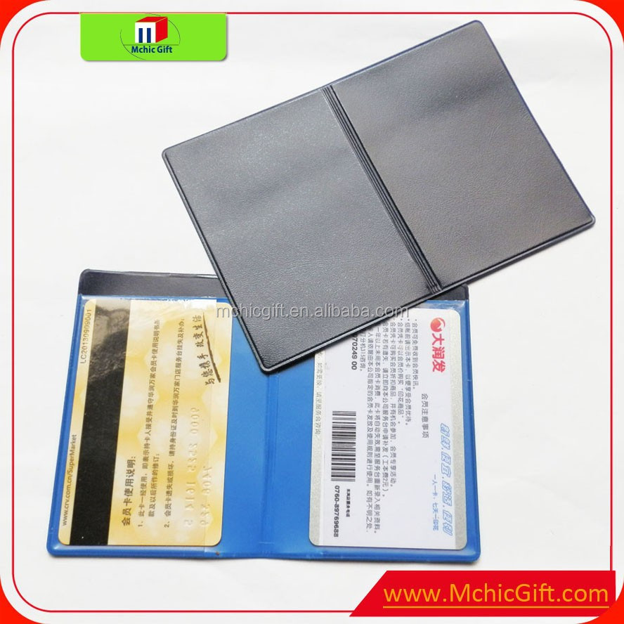 Customized made soft pvc plastic credit card cover