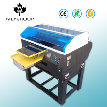 Multicolor a3+ size textile printer dtg direct to garment t shirt printing machine