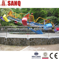 factory direct thrill double flying rides for sales/new design double flying rides used amusement park