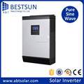 BESTSUN 4000 watt single phase hybrid solar inverter pure sine wave inverter 24V/48Vdc to 220Vac with battery charger & avr