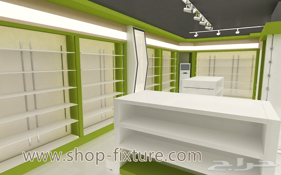 Wooden Retail Pharmacy Shop Interior Design Pharmacy Shop