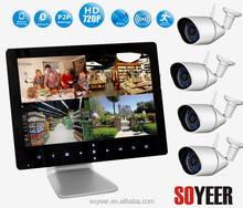 4Ch Wireless Network Cctv Dvr Bedroom Wireless Hidden Camera Soyeer Sly092-C094 9 Inch Touch Pad Hi Vision Cctv Dvr