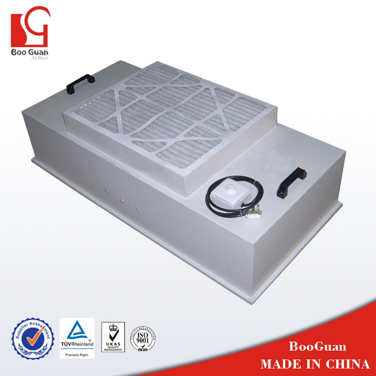 New style best selling plastic filter unit with axial fan