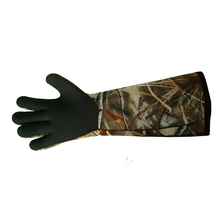 Neoprene Hunting Glove Elbow Length Camo Decoy Glove