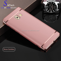 Mobile Phone Hard Shell Cover Luxury Electroplating 3 in 1 PC Case For Samsung Galaxy S8 plus